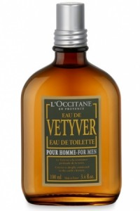 eau de vetiver l'occitante